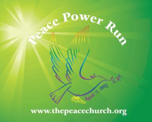 Peace Power Run: April 7, 2012